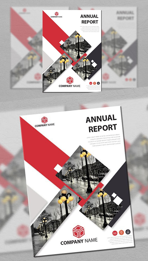 How to Design Annual Report Illustrator Tutorial