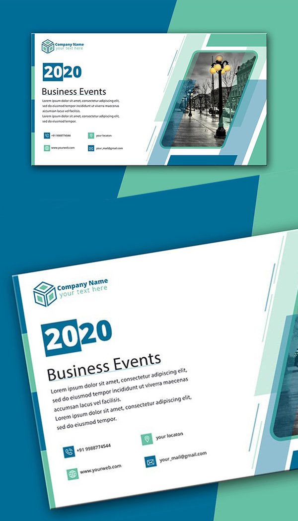 How to Design Business Event Banner Illustrator Tutorial