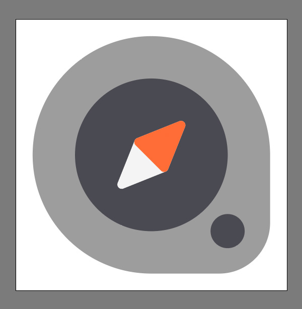How to create a Compass Icon in Adobe Illustrator