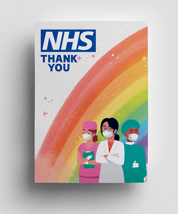 Thank you to NHS Poster - 2