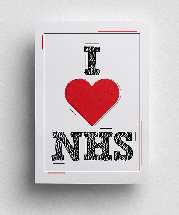 Thank you to NHS Poster - 6