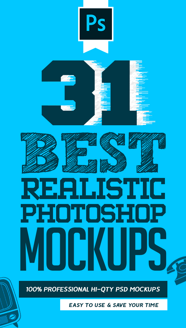 31 Best Mockup Templates: Realistic Mockups for Commercial Presentation
