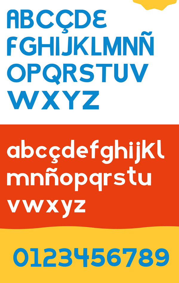 Farias Free Font Letters