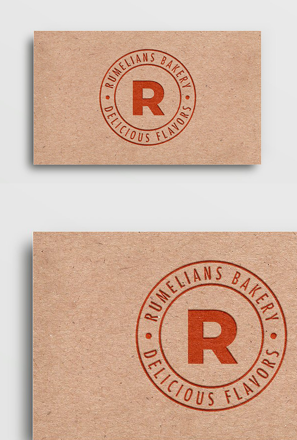 Free Recycled Paper Card PSD Mockup