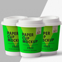 Post thumbnail of Free Paper Cup Mockup PSD
