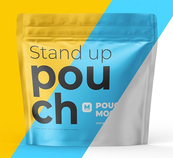 Standup Pouch Mockup