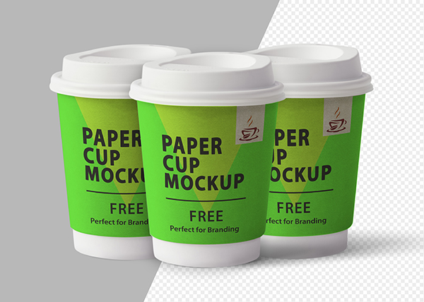 Paper Cup Mockup Template