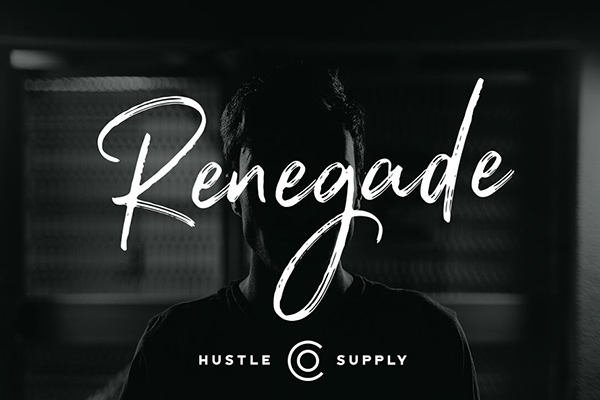 Renegade - Hand Painted Signature