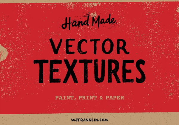 Vector Textures Paint and Paper