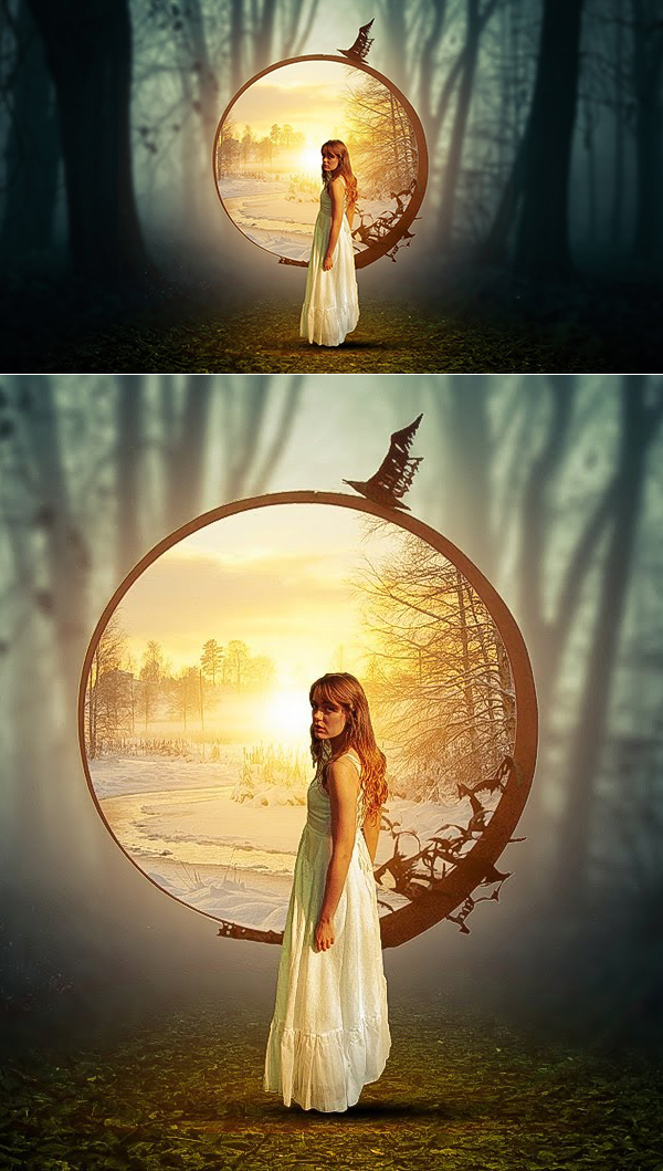 Learn Leave Photoshop Manipulation And Concept Art Tutorial