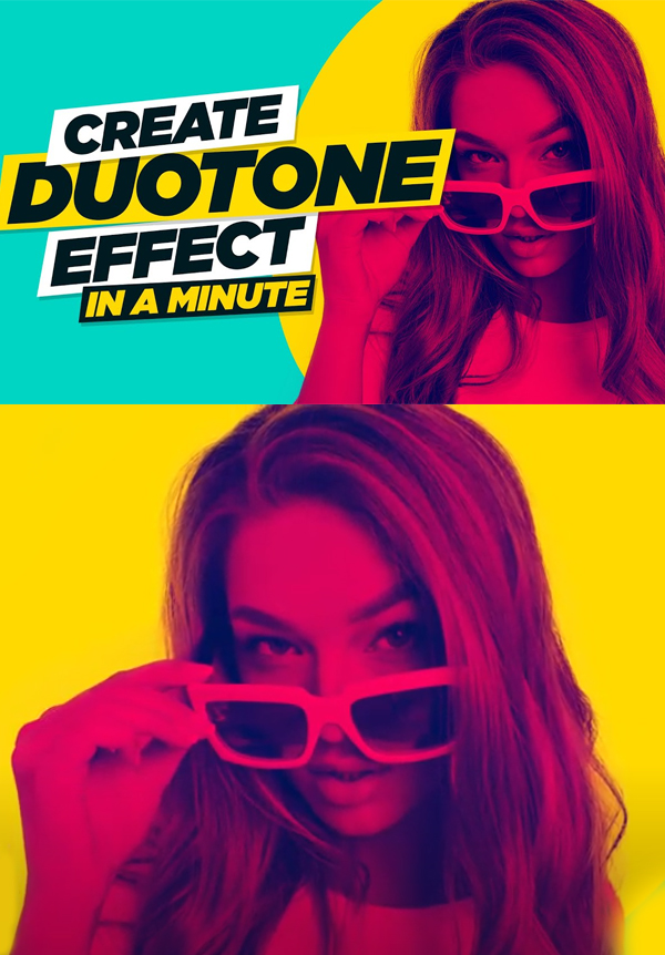 How to Create Duotone Effect in Photoshop Tutorial