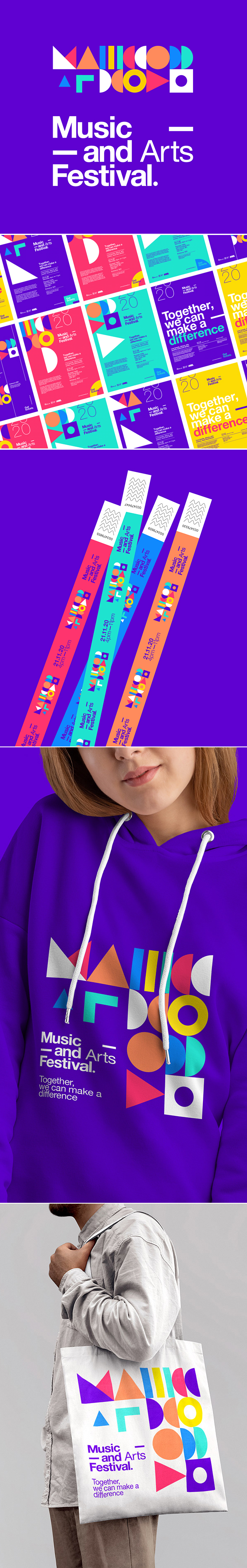 Music and Arts Festival Identity by Broklin Onjei