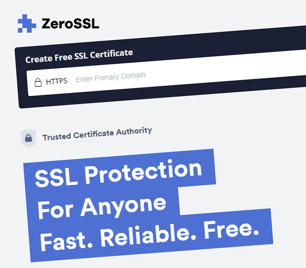 Here is why you should try out the Zero SSL!