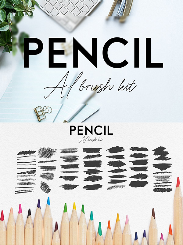 Pencil AI Brush kit