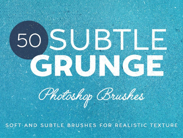 50 Subtle Grunge Brushes