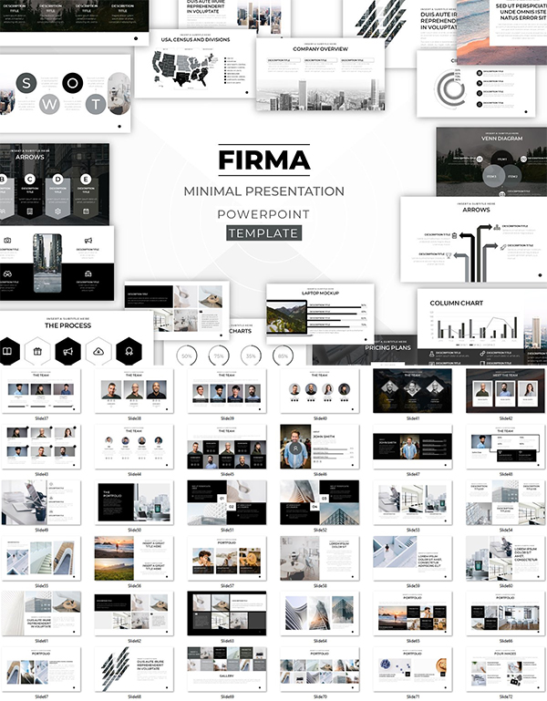 FIRMA Minimal Powerpoint Template