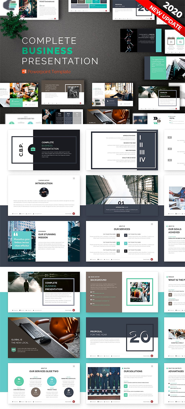 Business | Powerpoint Template