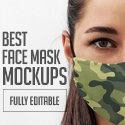 Post Thumbnail of 20+ Best Face Mask Mockups (PSD, Mockup Templates)