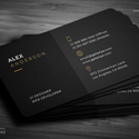 Post Thumbnail of Business Cards Design - Modern Print Ready
