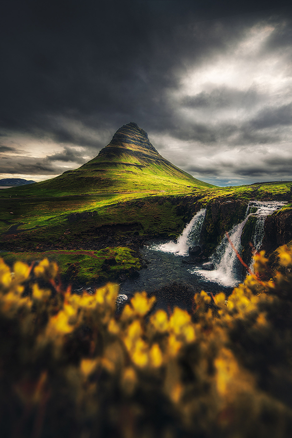 Beautiful landscape of Iceland by Unknown