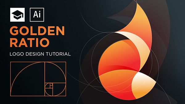 How to Design FireFox Logo with Golden Ratio in Adobe Illustrator Tutorial