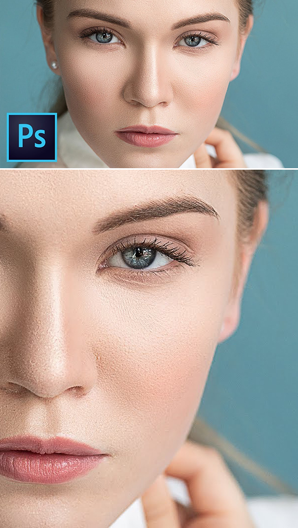 Learn How High-End Skin Retouching & Sculpting in Photoshop