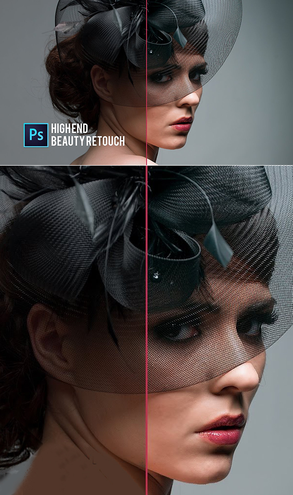 Easy High End Beauty Retouch Photoshop Tutorial