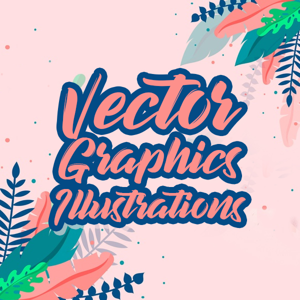15+ High Quality Vector Graphics and Illustration Sets