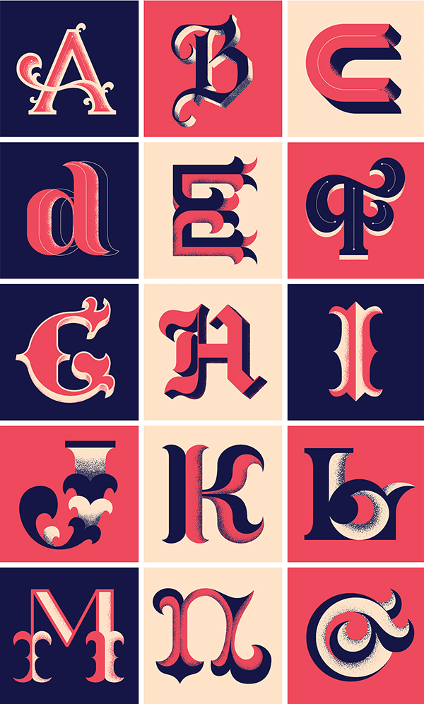 Amazing 36 Days of Type