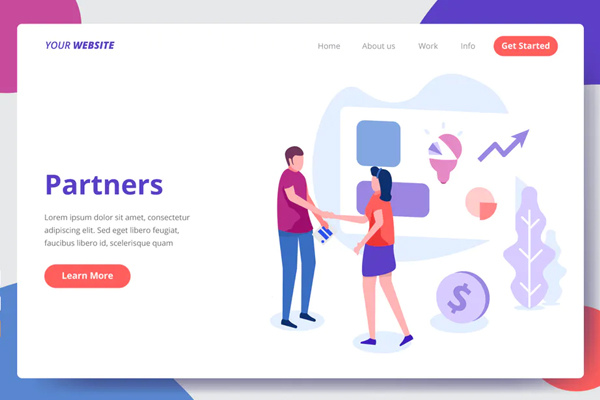 Partners - Landing Page