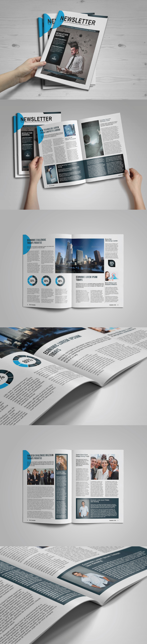 Multipurpose Newsletter Brochure Template