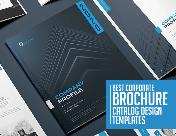 21 Best Creative Brochure / Catalog Templates