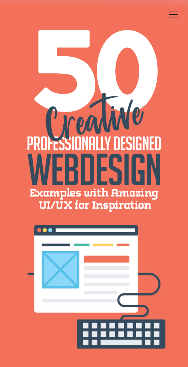 Web Design: 50 Creative Website Designs Examples from 2020