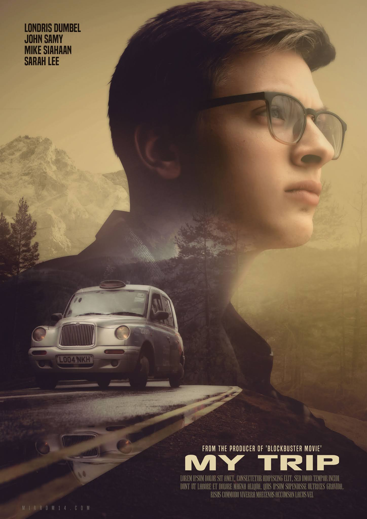 How to Create Advanced Cinematic Movie Poster Design in Photoshop Tutorial