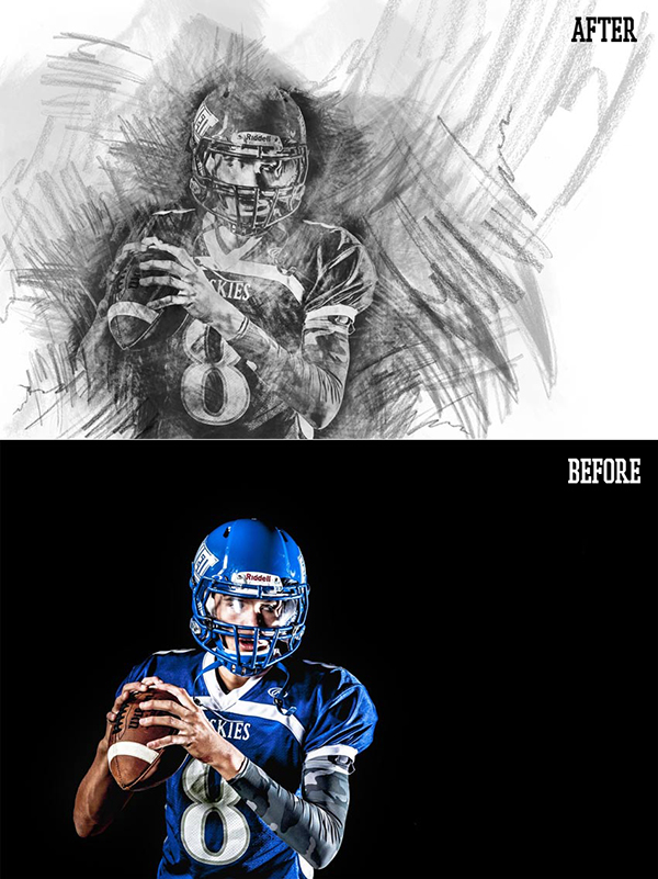 How to Create a Charcoal Drawing From a Photo (With a Photoshop Action)
