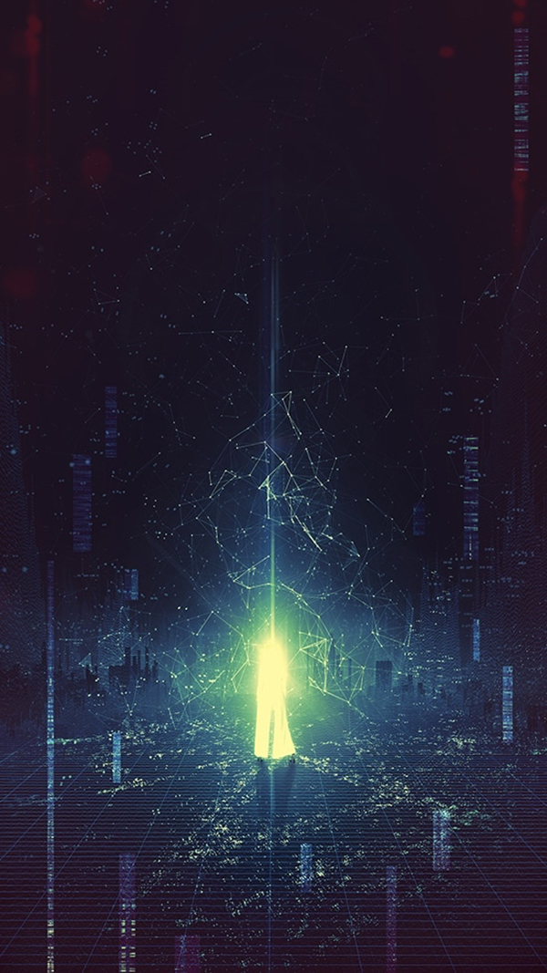 Learn How to Create Cyberpunk Poster with Neon and Glitch Effects in Photoshop Tutorial