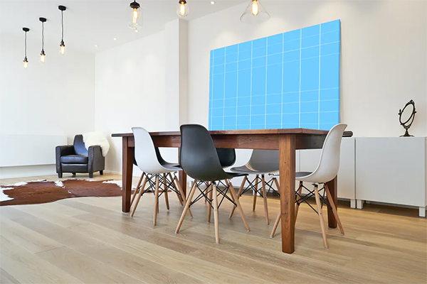 Dining Table Mockup