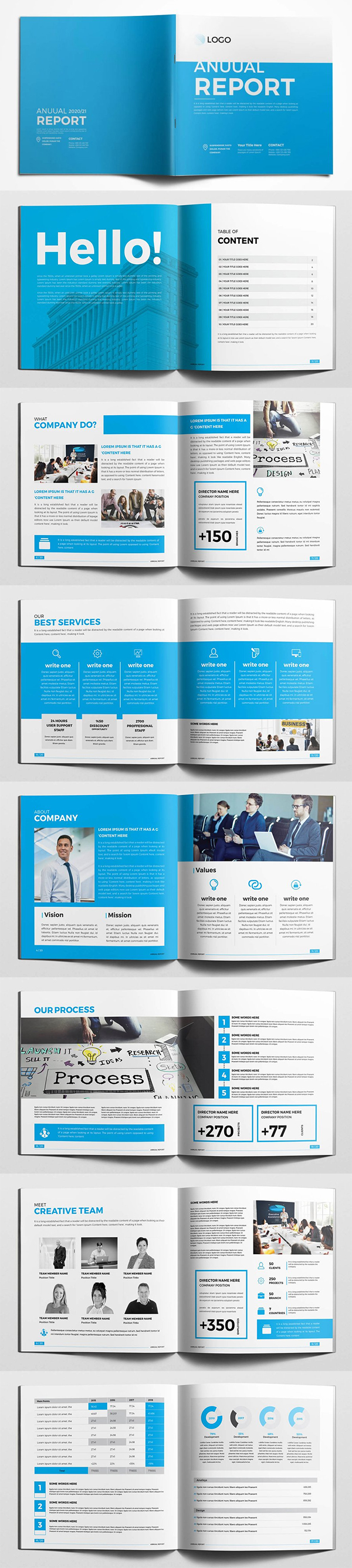 Square Annual Report Brochure