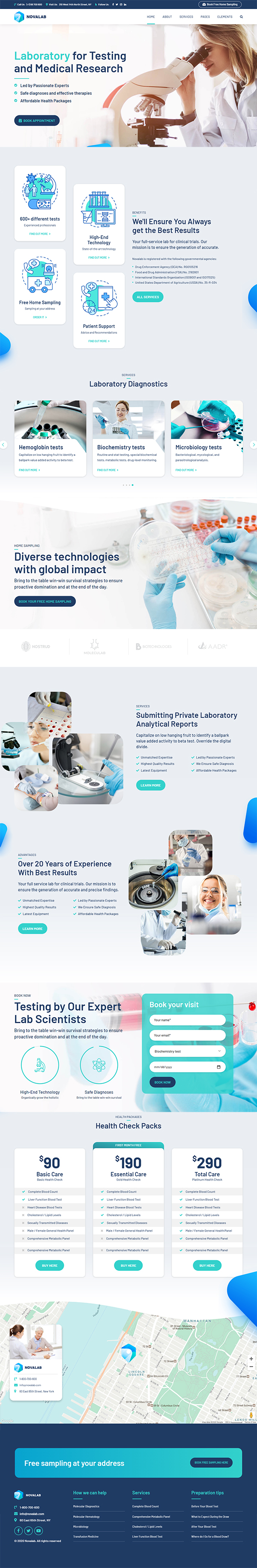 NovaLab - Science Research & Laboratory
