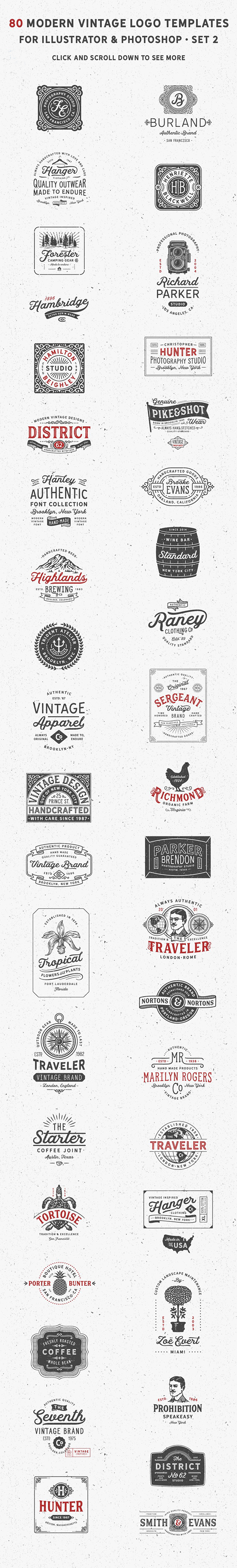 Creative Badges & Emblems Logo Designs For Inspiration