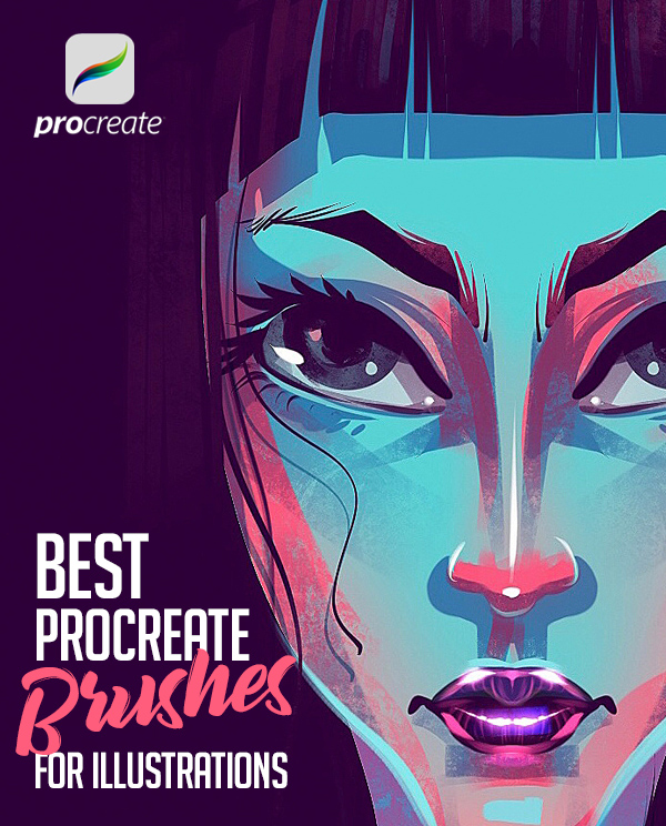 26 Best Procreate Brushes For Illustration Drawing