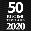 Post thumbnail of 50 Resume Templates – Best Of 2020