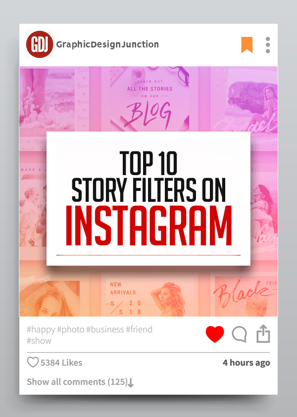 Top 10 Story Filters on Instagram