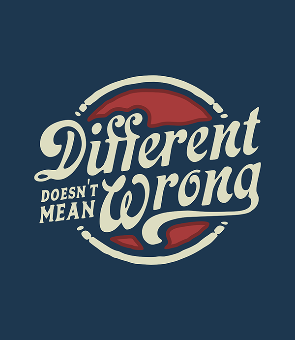 Different doesn't means wrong
