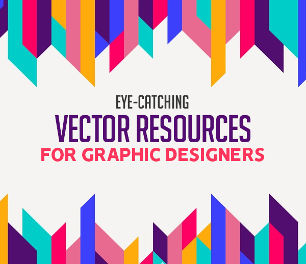 5+ Eye-Catching Vector Resources for Graphic Designers
