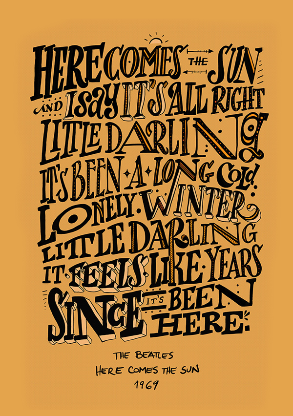 Remarkable Calligraphy and Lettering Designs for Inspiration - 27