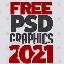 Post Thumbnail of 50 Useful Free PSD Files For 2021