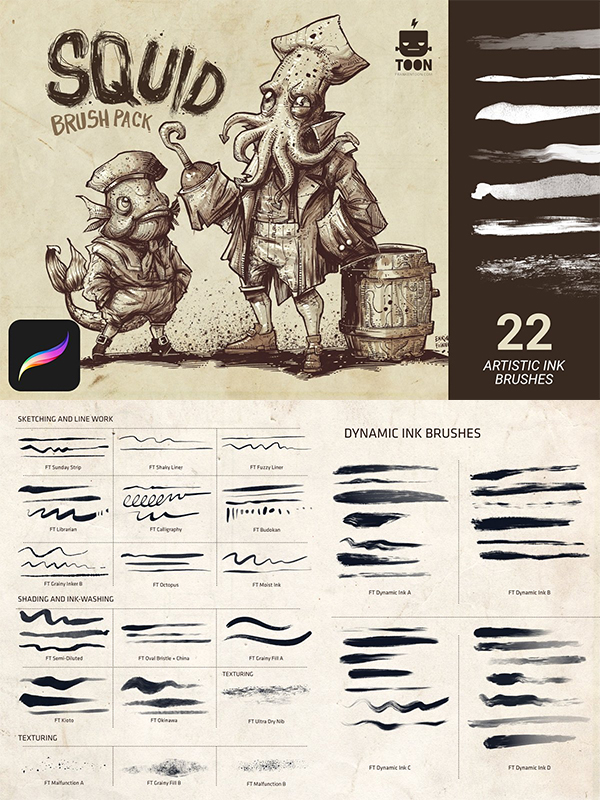50 Best Procreate Brushes For 2021 - 38