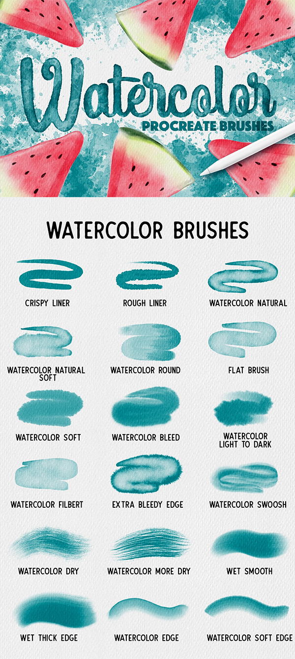50 Best Procreate Brushes For 2021 - 43