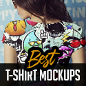 Post Thumbnail of 21 Best T-Shirt Mockup Templates